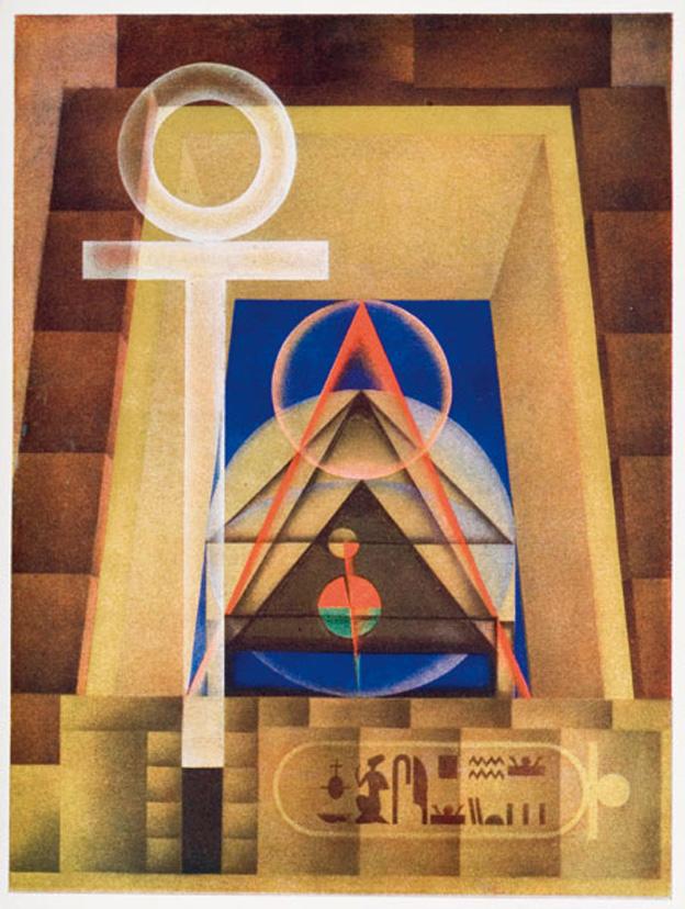 Bild aus dem Archiv der Abtei Thelema
